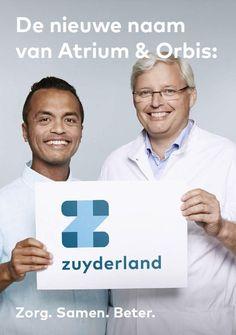 Patiënt Gerzon Kakisina en orthopedisch chirurg Pieter Tilman staan helemaal achter de nieuwe naam van Atrium & Orbis: Zuyderland! #Zuyderland - www.facebook.nl/zuyderland