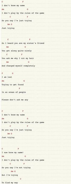 Wish You Were Here Chords | I will learn to play guitar | Pinterest ...