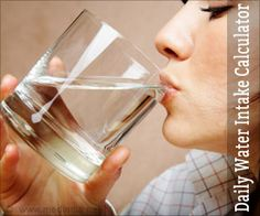 Calculate how much glasses of water you need to drink each day to avoid dehydration using this daily water intake calculator.