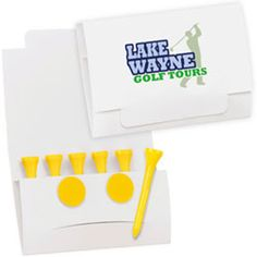 Golf Tee Packet - Value Tees Golf Outing, Golf Tour, Product Offering, Company Names, Markers, Promotion, Golf Courses, Messages, Make It Yourself