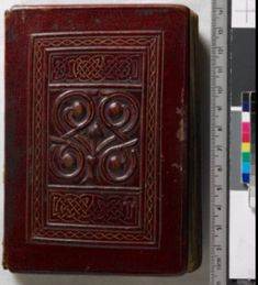 W7 (Add MS 89000, CC British Library) The St Cuthbert Gospel from the 8th Century, is a fine example of the cuir ciselé. This technique of decorating the leather by means of a sharp instrument.
