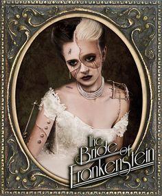 The Bride of Frankenstein by ~Jeffach. Halloween costume INSPIRATION!