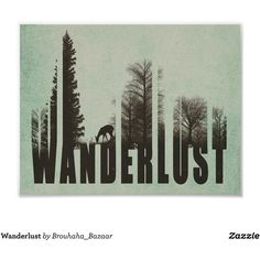 Wanderlust Poster ($8.35) ❤ liked on Polyvore featuring home, home decor, wall art, paper wall art, framed posters, framing posters and framed wall art