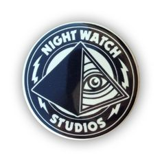 Image of WARBIRD Tee and FREE Glow-In-The Dark Button