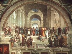 Ancient Philosophers (School Of Athens), Raphael