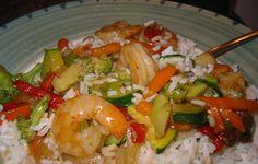 Teriyaki Shrimp And Vegetable Stir Fry Recipe - Recipezazz.com