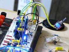 DIY Analog Sequencer with Noise Oscillator - 2 Schmitt Trigger oscillator.  One controlled by sequencer oscillator output .