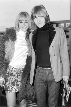 Brian Jones Anita Pallenberg 1966 Songs About Girls 70s Rock Bands