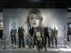 Guess Store - retail window display