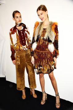 Gucci SS15 Fashion Show Milan Backstage | Sonny Vandevelde