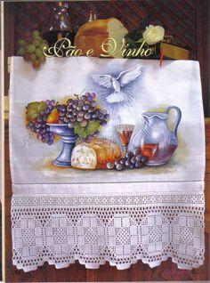 CrochetArte - Bia Moreira - Pão e vinho