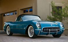 "1954 Chevrolet Corvette ""Bubbletop"" Roadster"