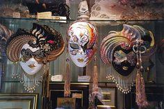 Venice - Carnival masks by WVJazzman, via Flickr