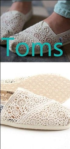 Love these and they come in tons of colors... and with every pair you purchase, TOMS will give a pair of new shoes to a child in need. TOMS 'Classic' Crochet Slip-On (Women) available at Nordstrom