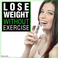 How To Lose Weight Without Exercise! #loseweight #weightloss
