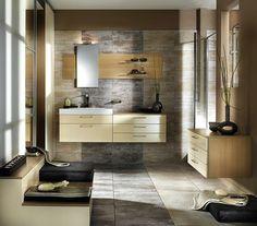 salle de bain en nuances beiges