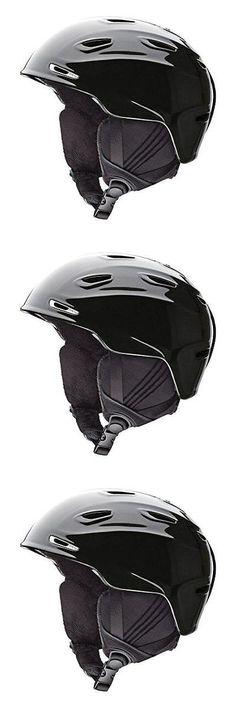 Protective Gear 36260: Smith Optics Arrival Plastic Adult Ski Snowmobile Helmet Black Pearl Medium -> BUY IT NOW ONLY: $45 on eBay!