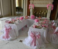 tea party table setup