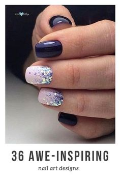 Snatching gel nail designs to fall heads over heels for. #best #nail #designs #art