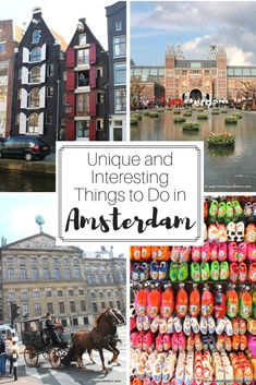 10 of the most unique and interesting things to do in #Amsterdam #Netherlands // #traveltips #europe