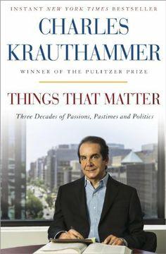 Things That Matter: Three Decades of Passions, Pastimes and Politics, http://www.amazon.com/dp/B00CK8CLDY/ref=cm_sw_r_pi_awdm_DZpKsb19GJRN0