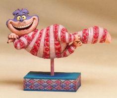 Jim Shore Disney 'Cheshire Cat' Figurine Disney Dream, Disney Style, Disney Love, Christmas Story Books, Alice In Wonderland Room, Disney Ornaments, Disney Figurines, Disney Traditions, Disney Collectibles