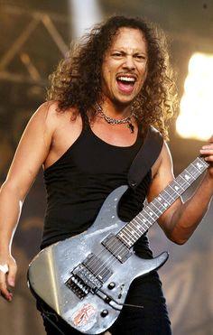 Kirk Hammett of Metallica born 11-18-1962