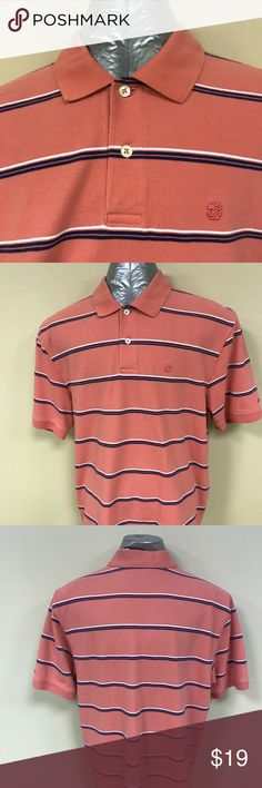 """Izod 100% cotton golf shirt Izod 100% cotton golf shirt.  No blemishes.  Looks and wears like it is brand new.  The measurement from the back of the collar to the hem is 30"""" and the measurement from armpit to armpit is 23"""". Izod Shirts Polos"""