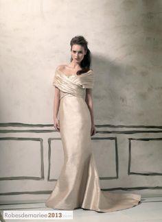 Fabulous trompette sirène sweetheart chapelle sans manches Floor-Length robe de mariée