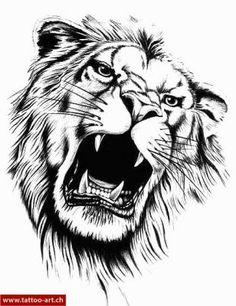 löwe tatoo - Google-Suche