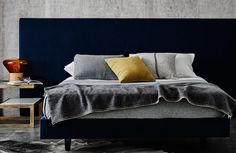 Upholstered Bed Base | Heatherly Design