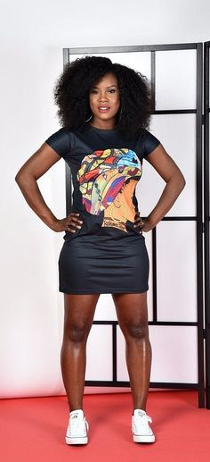 SALE Queen Neria headwrap T-Shirt dress BLACK. African Queen headwrap T-shirt/ dress. This statement T-shirt dress is a must have. It can be worn either with pants or as a dress. Ankara | Dutch wax | Kente | Kitenge | Dashiki | African print bomber jacket | African fashion | Ankara bomber jacket | African prints | Nigerian style | Ghanaian fashion | Senegal fashion | Kenya fashion | Nigerian fashion (affiliate)