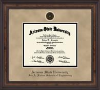 Arizona State University - Ira A. Fulton Schools of Engineering Diploma Frame - Heirloom Edition