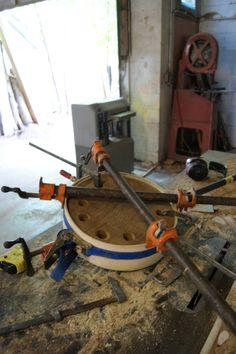 bildergebnis fr minecraft kuchen this is how a steam bent banjo pot gets made from solid ash - Minecraft Kuche Bauen