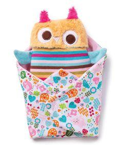 Zutano Swaddle Owl & Blanket | zulily