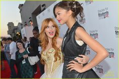 .@bellathorne and @zendaya96 #StaplesForStudents