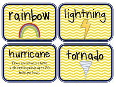 2nd grade science - weather