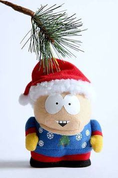 Junkfood Branded Christmas Trees #Christmas #Ornaments #SouthPark