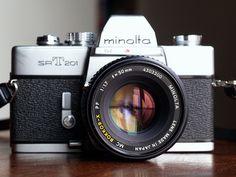 Minolta SRT 201 - My second camera