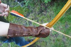 Leather Archery Bracer by FourSheepDesigns on Etsy