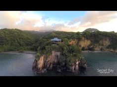 Secret Bay, Dominica - Top Rated Caribbean Honeymoon Eco-Luxury Resort - YouTube