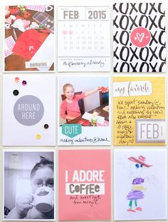 Project Life spread by Jennifer Chapin for Elle's Studio