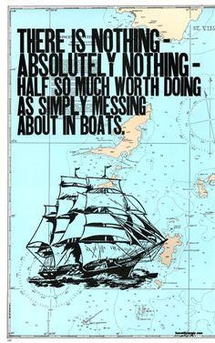 use the coast guard maps + quote @Suzy Sissons Sissons Mitchell Fellow Baker quote about building ships