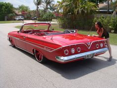 '61 Chevy Impala convertible