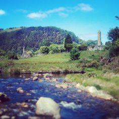 Glendalough, Ireland. Ireland, River, Mountains, Nature, Outdoor, Outdoors, Naturaleza, Irish, Outdoor Games