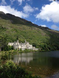 Kylemore Abbey - Visit this beautiful Abbey on a CIE Tour at www.cietours.com #Ireland #History #Coachtour