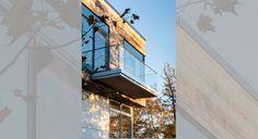 Kanadai fogadó és lakóház - együtt a természettel | design.hu Louvre, Building, Travel, Design, Canada, Viajes, Buildings, Destinations