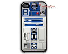 Star Wars R2D2 iPhone 4 Case, iPhone 4s Case, iPhone 4 Hard Case, iPhone Case. $9.99, via Etsy.