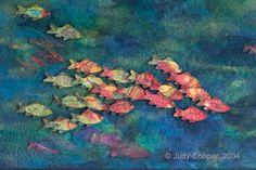 Art Quilt Techniques Blogs | Judy Cooper Textile Images: April 2011