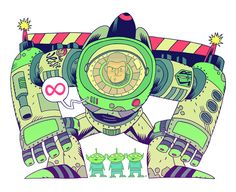 Buzz Lightyear - Dan Hipp